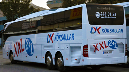 DK Köksallar Seyahat Online Bilet Alma