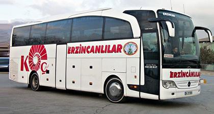 Öz Erzincanlılar Turizm Online Bilet Alma