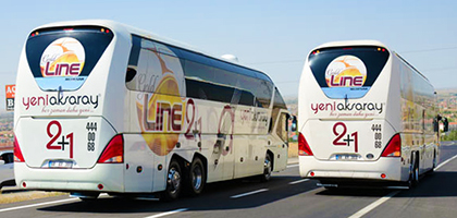 Yeni Aksaray Turizm Online Bilet Alma