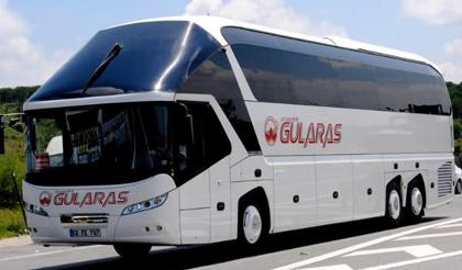 Adıyaman Gülaras Turizm Online Otobüs Bileti Al