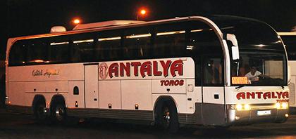 Antalya Toros Turizm Online Bilet Al