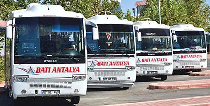 Batı Antalya Tur Online Bilet Alma