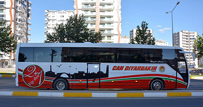 Can Diyarbakır Seyahat Online Bilet Alma