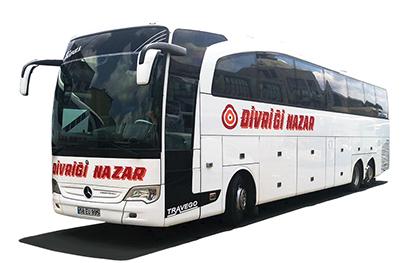 Divriği Nazar Turizm Online Bilet Al
