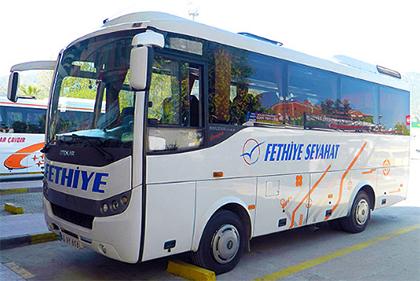 Fethiye Seyahat Online Bilet Alma