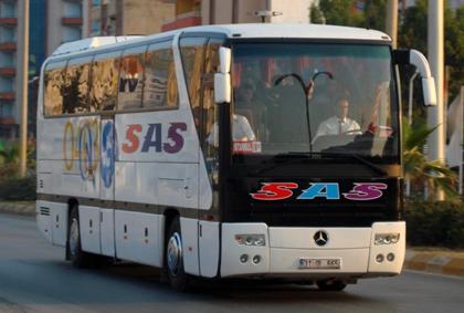 Hatay SAS Seyahat Turizm Otobüs Bileti Al