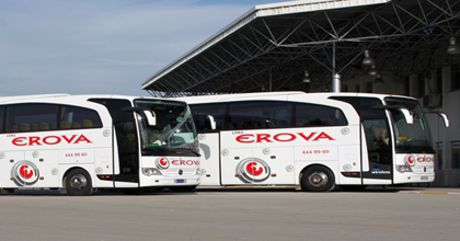 Lüks Erova Turizm Otobüs Bileti Al