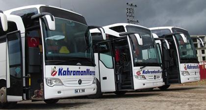 Lüks Kahramanmaraş Turizm Online Bilet Alma