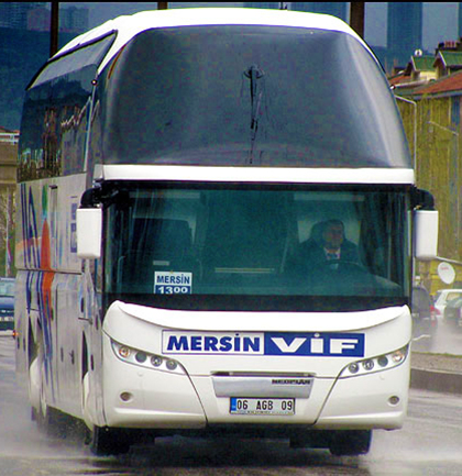 Mersin Vif Turizm Online Bilet Alma