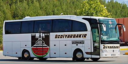 Öz Diyarbakır Seyahat Online Bilet Alma