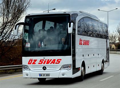 Öz Sivas Seyahat Online Bilet Alma