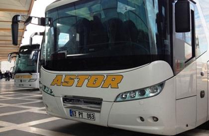 Urfa Astor Turizm Seyahat Online Bilet Almak