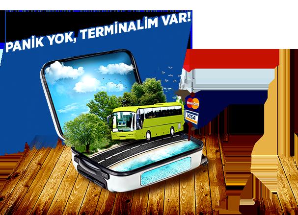 Online Otobüs Uçak İDO Biletleri